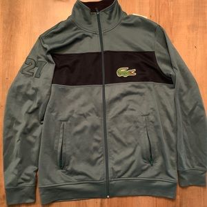 Lacoste Big Logo full zip Track Jacket size 8